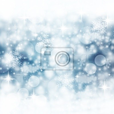 Fond bleu d'hiver