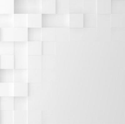 Sticker Fond carré de mosaïque. Conception de couverture minimaliste géométrique abstraite. Graphique vectoriel
