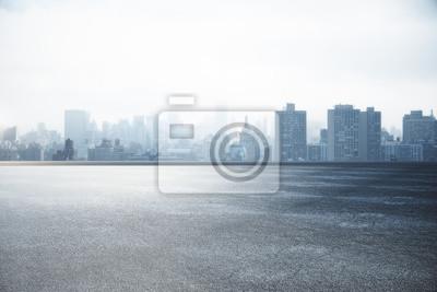 Sticker Fond d'écran City skyline
