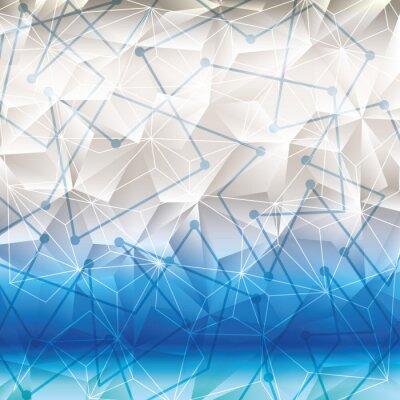 Sticker Fond d'écran géométrique ou arrière-plan