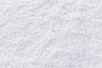 Sticker fond de neige