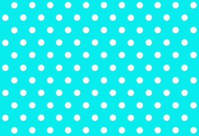 Sticker Fond de point de polka.