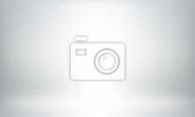 Sticker Fond de studio gris ou toile de fond 3D lightbox de pièce