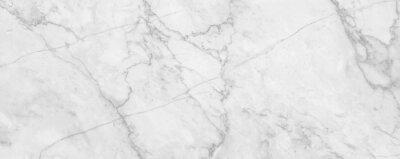 Sticker Fond de texture de marbre blanc, texture de marbre abstrait (motifs naturels) pour le design.