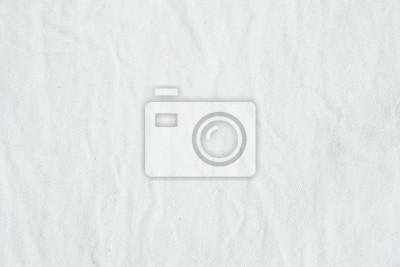 Sticker Fond de texture en tissu de coton blanc rincé, fond d'écran