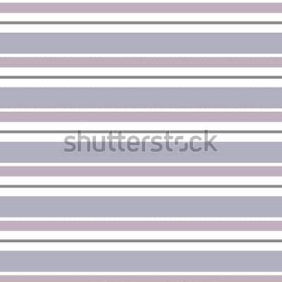 Sticker Fond géométrique abstrait vectoriel. Rayé horizontalement. Impression de décoration et de tissu