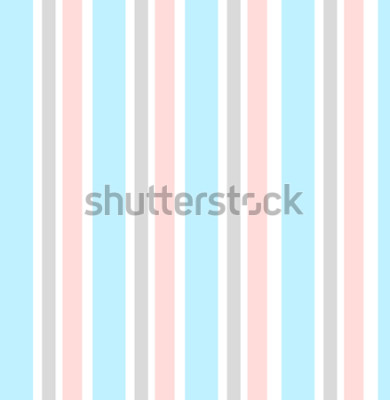 Sticker Fond géométrique abstrait vectoriel. Rayures verticales. Imprimé pour la décoration et le tissu