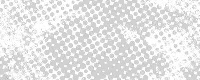 Sticker Fond grunge monochrome de taches demi-teinte