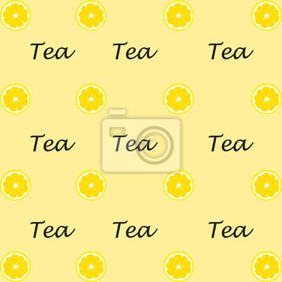 Fond, thé, citron