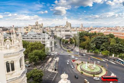 Fontaine Cibeles à la Plaza de Cibeles à Madrid