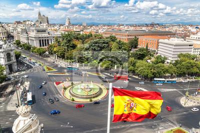 Fontaine de Cibeles à la Plaza de Cibeles à Madrid