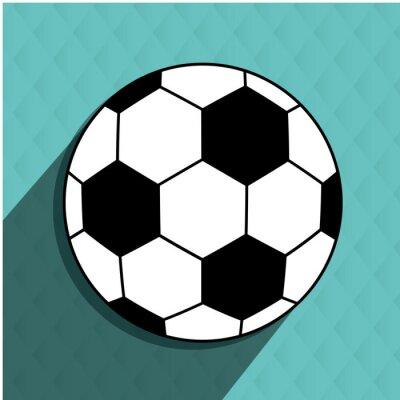 Sticker Football, football, conception