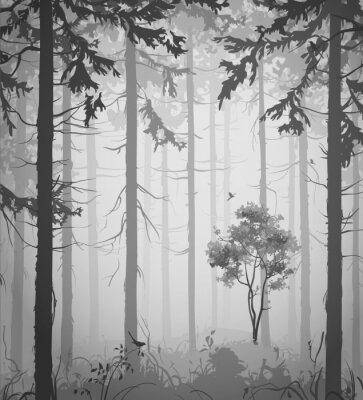 Sticker forêt
