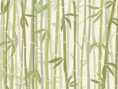 Sticker Forêt de bambous