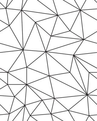 Sticker Forme transparente de texture de maille géométrique