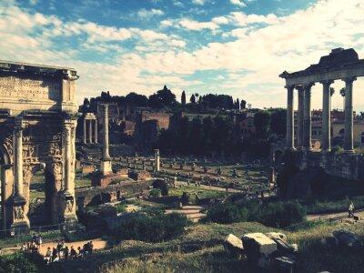 Sticker Forum romain, Rome