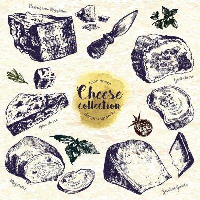 Sticker Fromage à la main