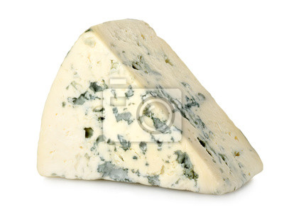 Fromage bleu isolé
