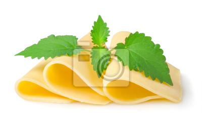 Fromage et à la menthe
