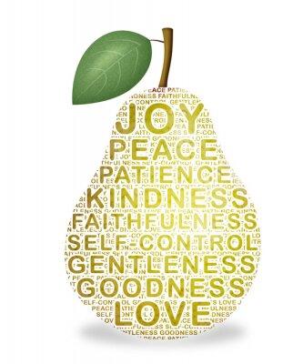 Sticker Fruit de l'Esprit
