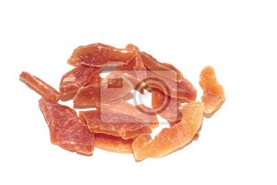 Sticker frutto papaya secca disidratata