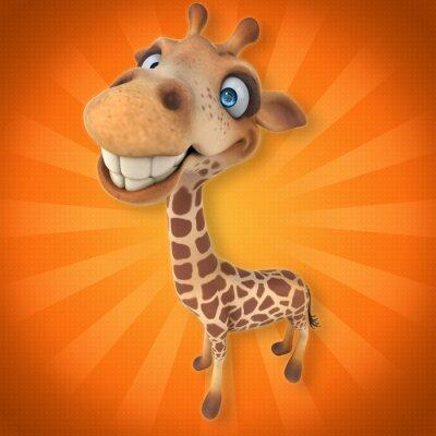 Sticker Fun girafe