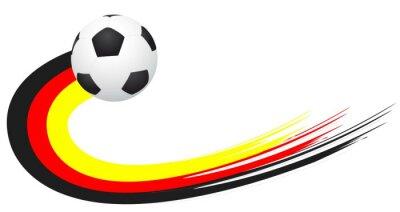 Sticker Fussball - Allemagne