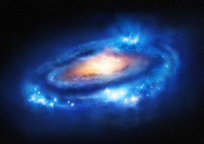Sticker Galaxy de Super Massive