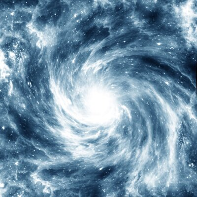 Sticker Galaxy spirale