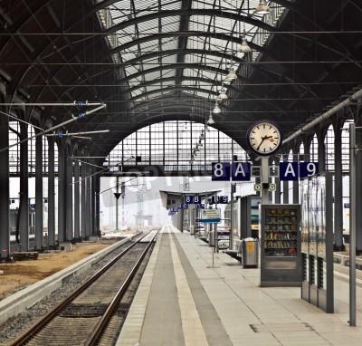 Sticker gare classicistical à Wiesbaden, Allemagne