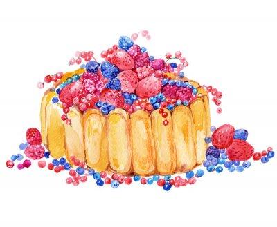 Sticker gâteau