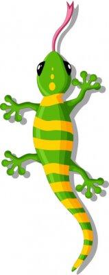 Sticker gecko Cartoon pour vous concevez