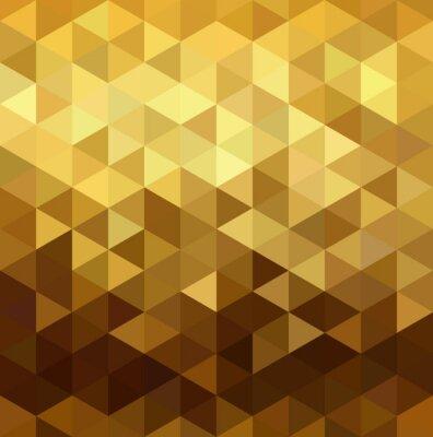 Sticker Géométrie en forme de triangle en poly