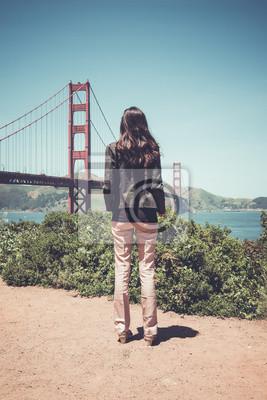 Golden Gate Bridge, San Francisco, Californie, États-Unis.