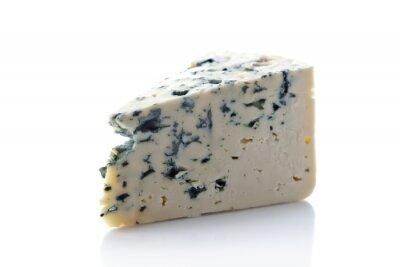 Sticker Gorgonzola, fromage, isolé, blanc