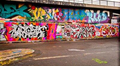 Sticker Graffitti mur