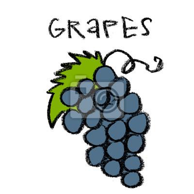 Grappe, raisins