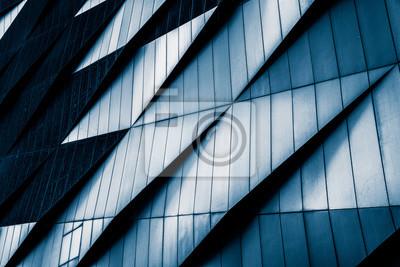 Sticker Gros plan, moderne, bureau, bâtiments, shanghai, porcelaine