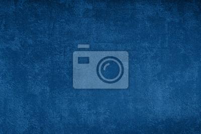 Sticker Grunge blue texture background, classic blue color 2020