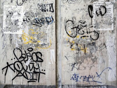 Sticker Grunge Texture de mur de fond à Bangkok