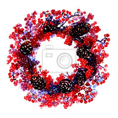 Guirlande de Noël décoré