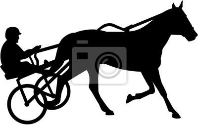 Harnais de course silhouette