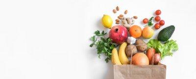 Sticker Healthy food background