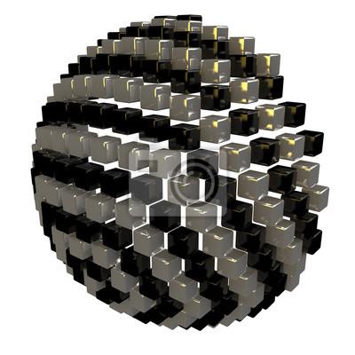 Hémisphère des cubes