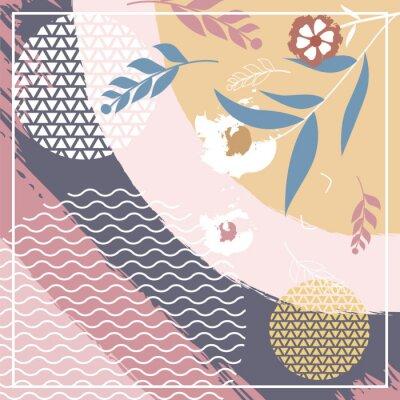 Sticker Hijab Creative Scarf Fashion for Printing