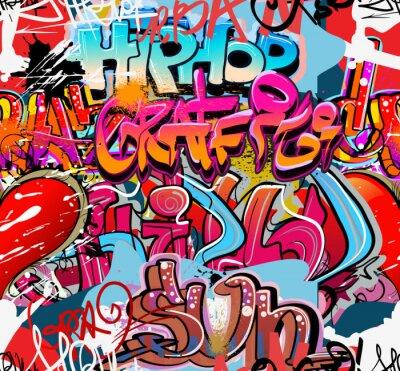 Sticker Hip-hop graffiti fond d'art urbain