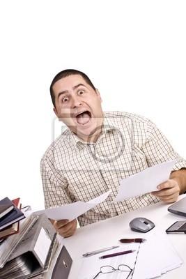homme dans un bureau