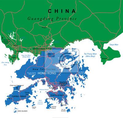Hong Kong carte