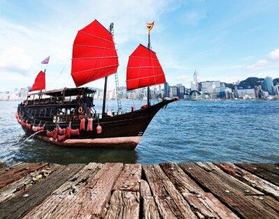 Sticker Hong Kong Harbour