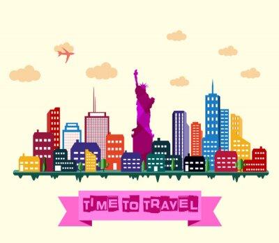 Sticker Horizon de la ville de New York